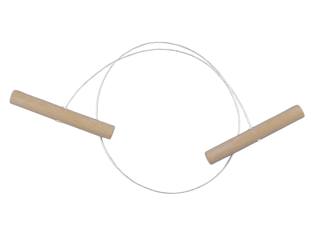 Wire loop Rayher 45cm with wooden grips