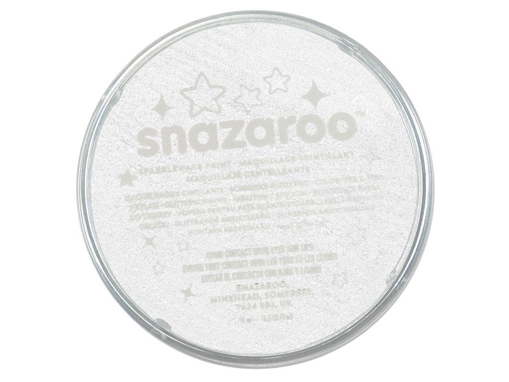 Grimo dažai Snazaroo 18ml sparkle white