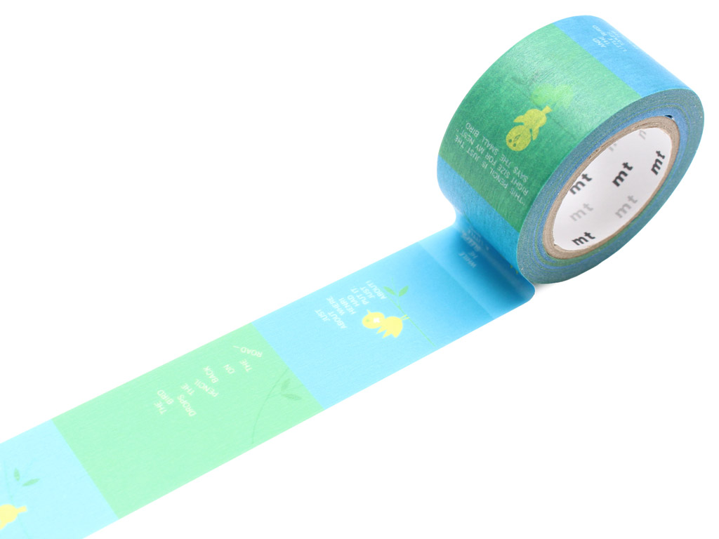Masking tape mt Saul Bass 25mmx10m little bird
