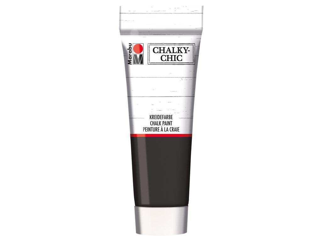 Krīta krāsa Chalky-Chic 100ml 175 ebony
