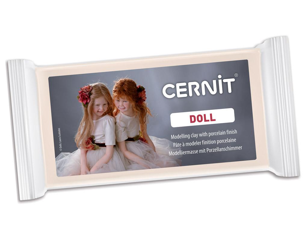 Polimērmāls Cernit Doll Translucent 500g 425 carnation