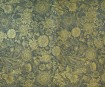 Nepaali paber 51x76cm Anapurna Floral Gold on Navy Blue