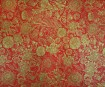 Nepaali paber 51x76cm Anapurna Floral Gold on Red