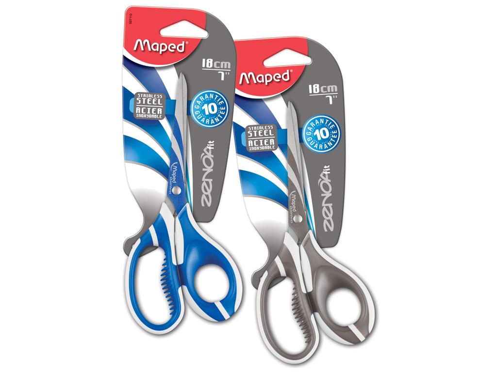 Scissors Zenoa Fit 18cm blister