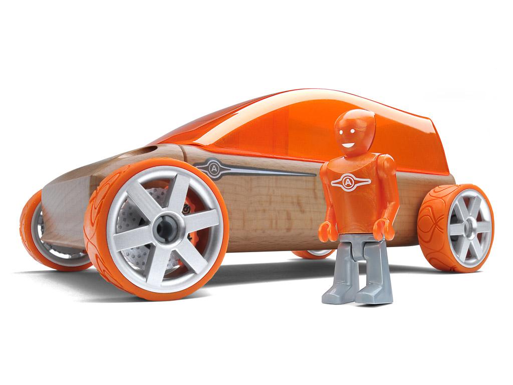 Mänguauto Automoblox Original M9 mahtuniversaal oranz