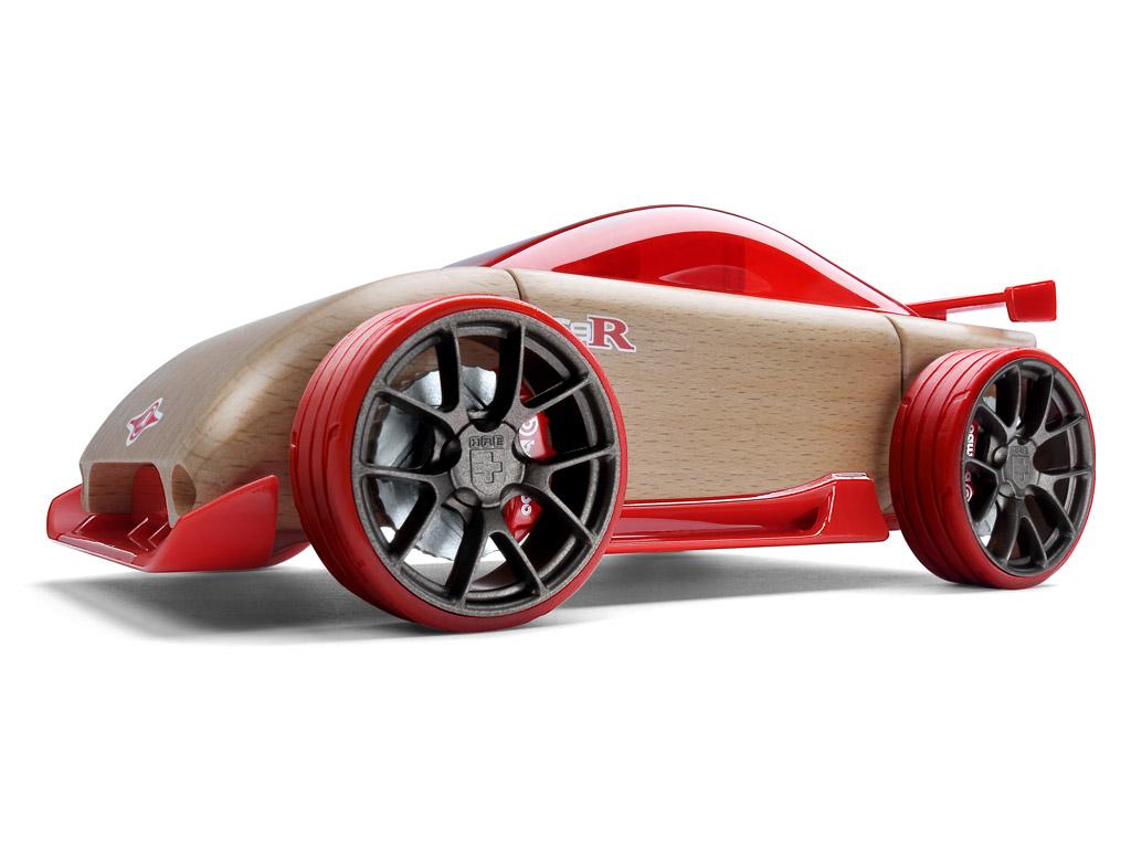 Mänguauto Automoblox Original C9-R sportauto punane
