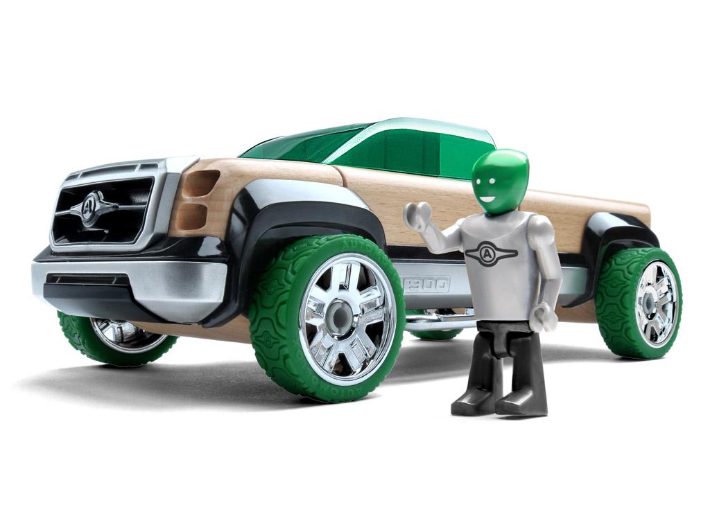 Mänguauto Automoblox Original T900 truck roheline