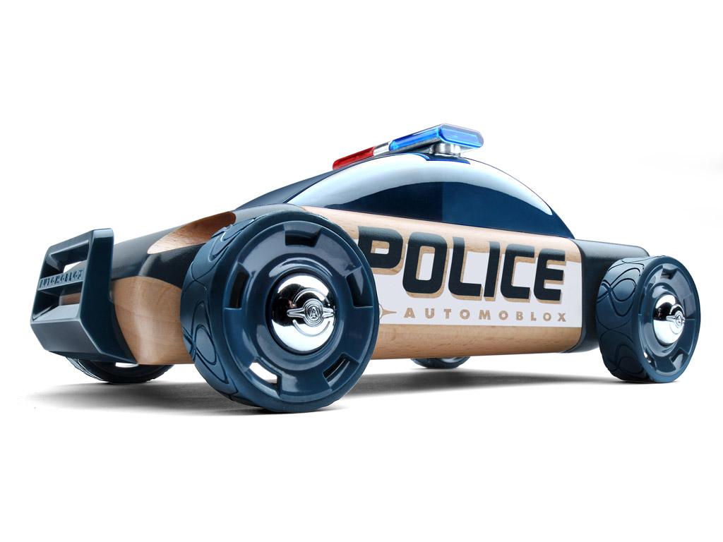 Mänguauto Automoblox Original S9 politsei tumesinine