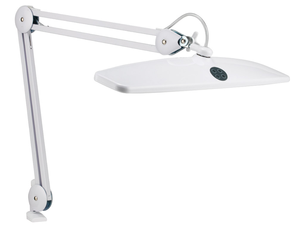Lampa Daylight XL LED ar knaģi balta