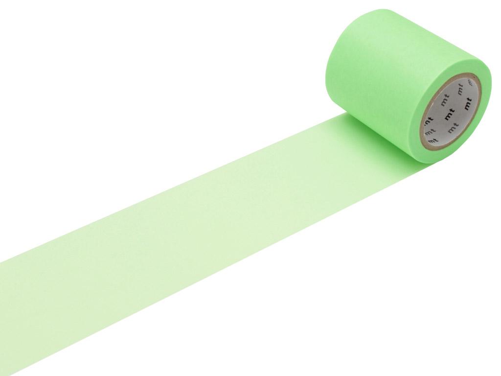 Masking tape mt casa basic 50mmx10m shocking green