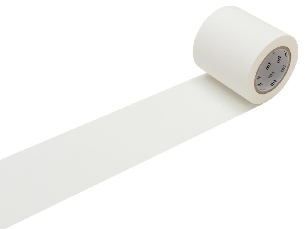 Masking tape mt casa basic 50mmx10m matte white