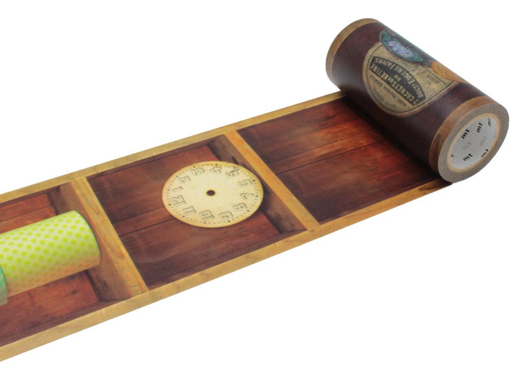 Washi dekoratyvi lipni juostelė mt casa deco 100mmx10m shelf
