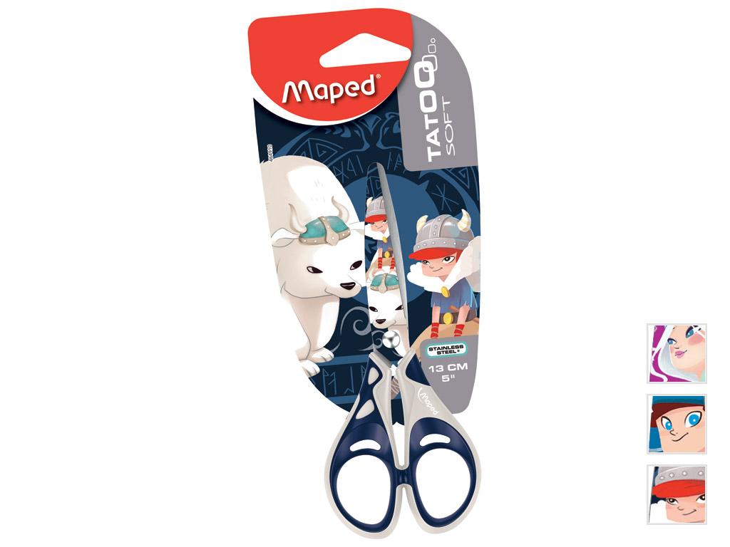 Käärid Maped Tatoo Kids 13cm blistril