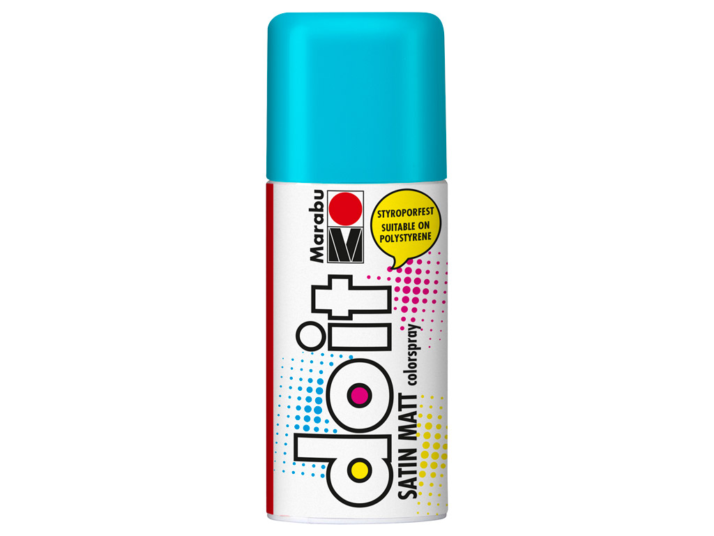 Aerosoolvärv do it Satin Matt 150ml 150 turquoise