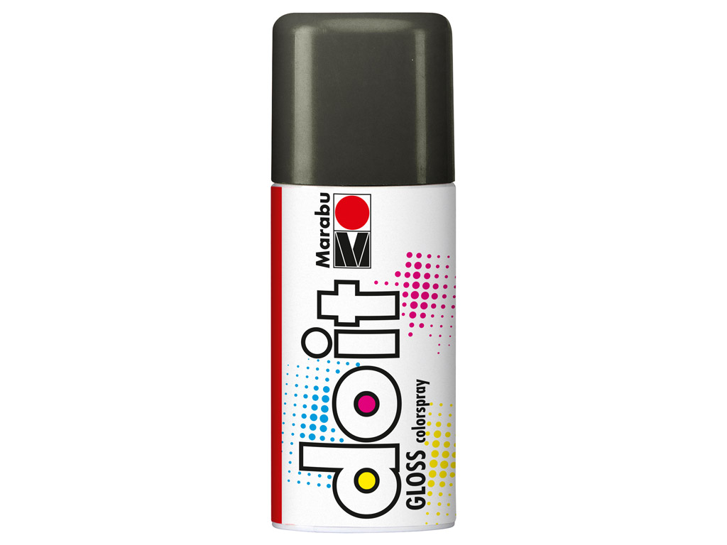 Aerosoolvärv do it Gloss 150ml 478 grey