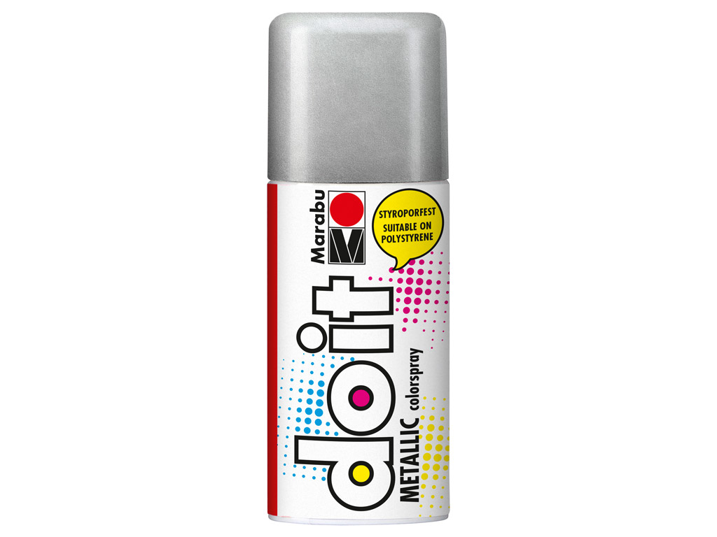 Aerozoliniai dažai do it Metallic 150ml 782 silver