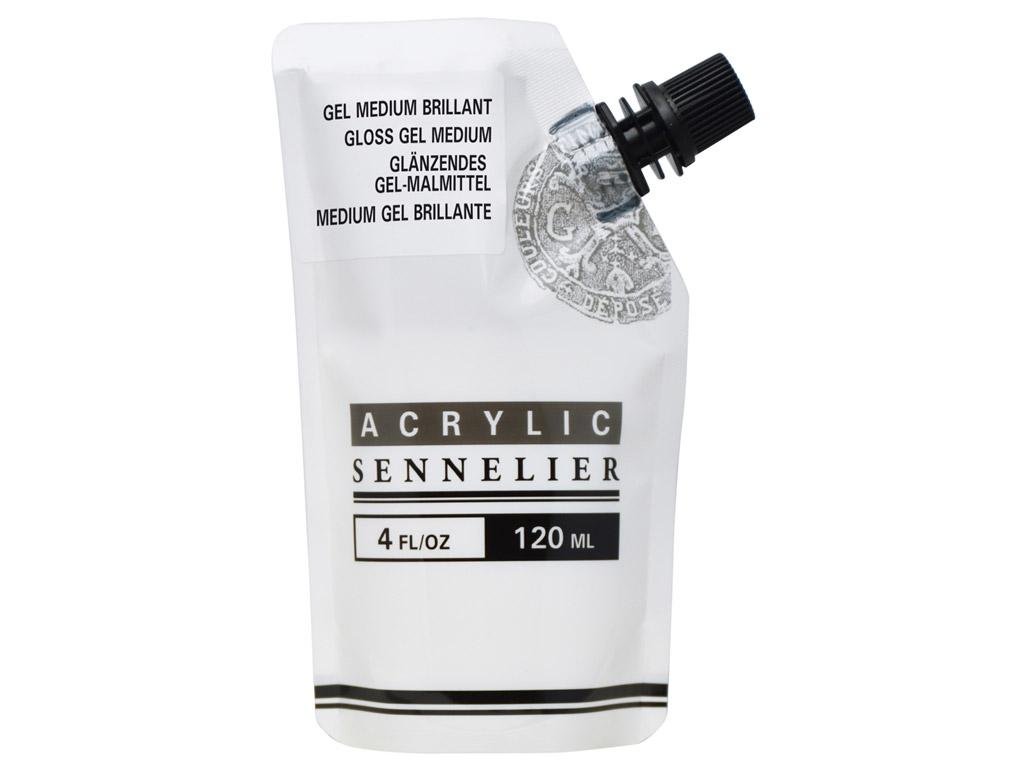 Akrüülvärvi geelimeedium Sennelier Gloss 120ml