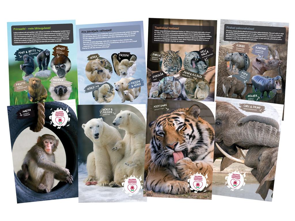 Kaustik Tallinna Loomaaed 36 lehte 23 joon assortii