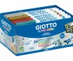 Viltpliiats Giotto Decor Metal 24tk