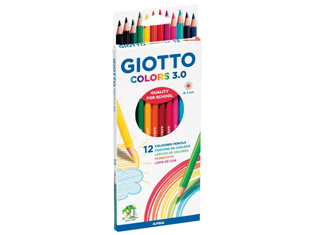 Värvipliiats Giotto Colors 3.0 12tk