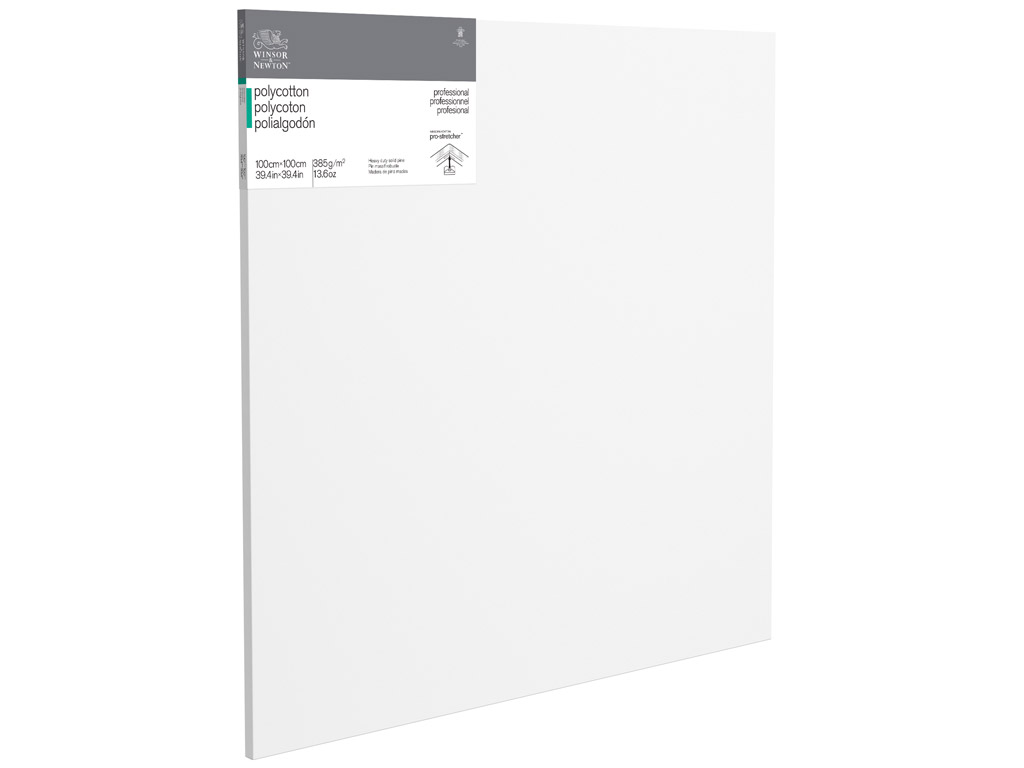 Lõuend raamil W&N Professional polüpuuvillane 100x100cm
