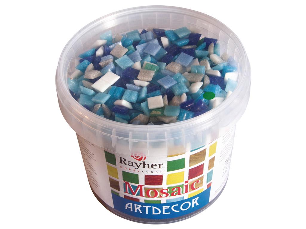 Mosaiikkivid Rayher ArtDecor 1x1cm ~1300tk/1kg sinised toonid