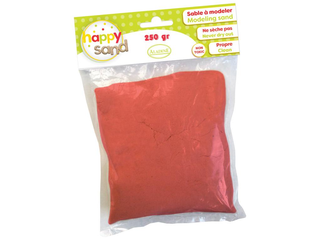 Modeling sand Aladine Happy Sand 250g red