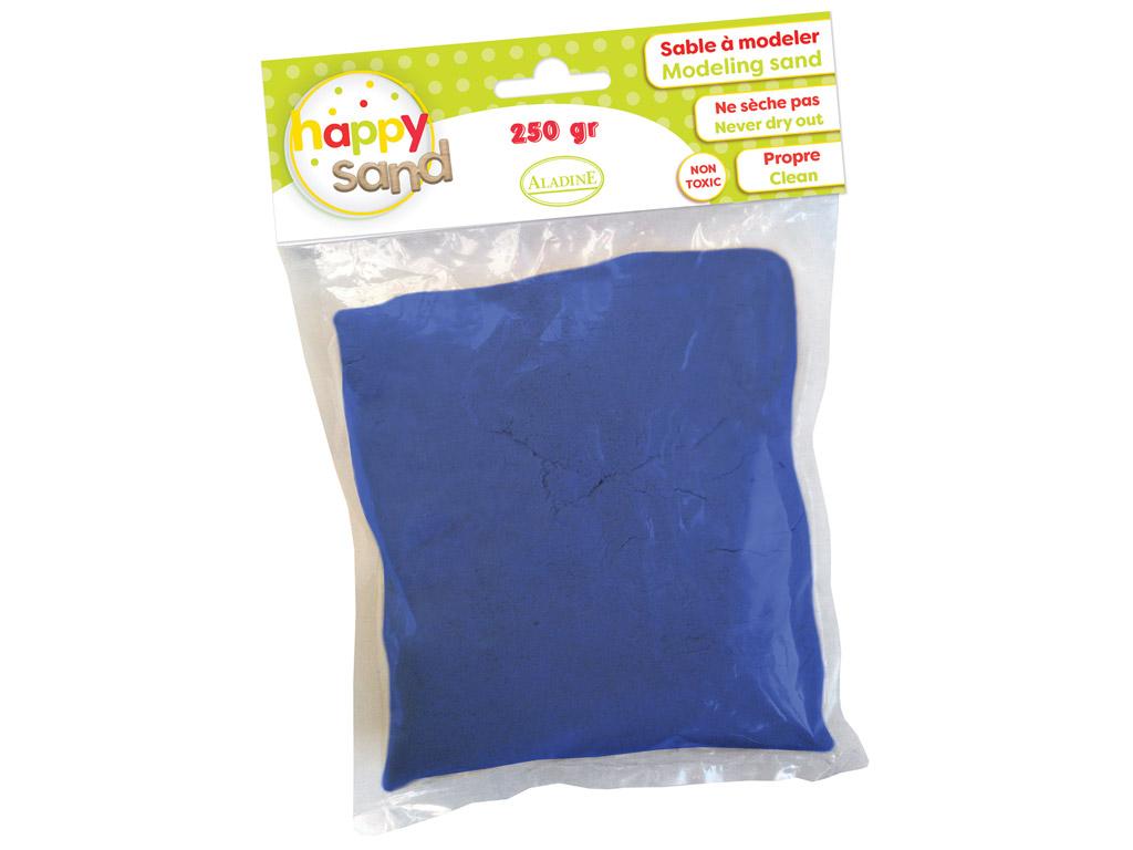 Modeling sand Aladine Happy Sand 250g dark blue