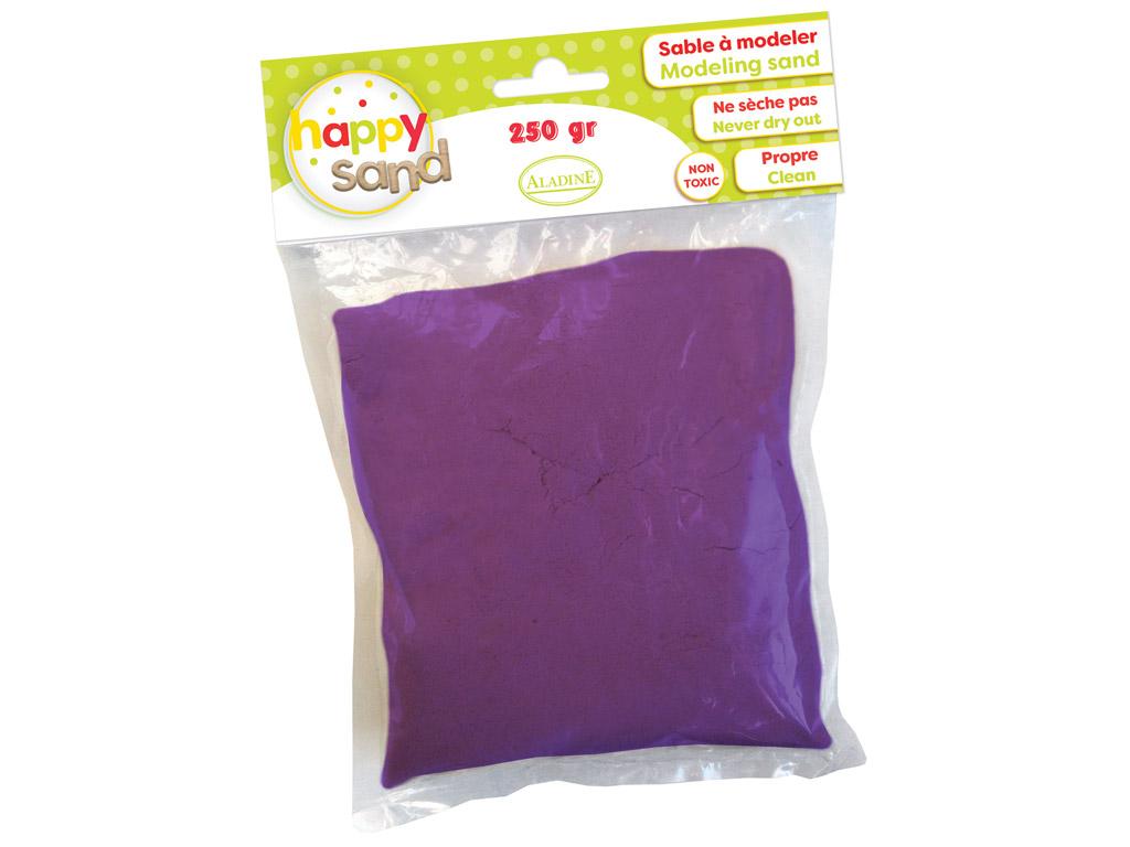 Modeling sand Aladine Happy Sand 250g violet