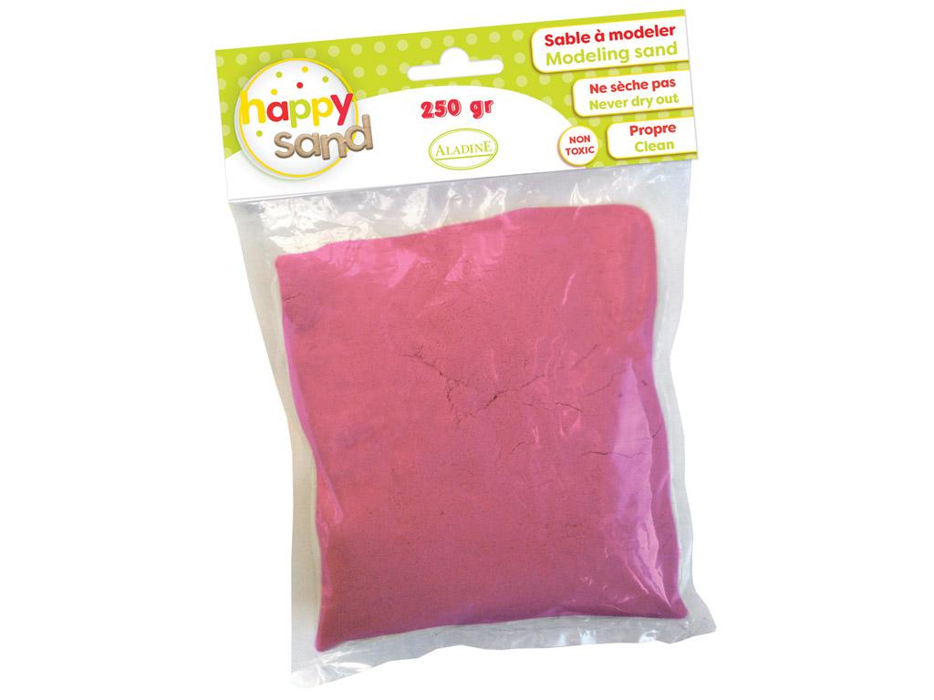 Modeling sand Aladine Happy Sand 250g pink