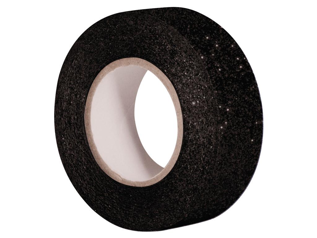 Līmlente ar glīteriem Rayher 15mmx5m black