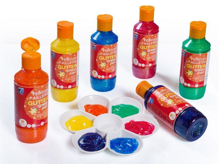 Glitter paint L&B Education 250ml