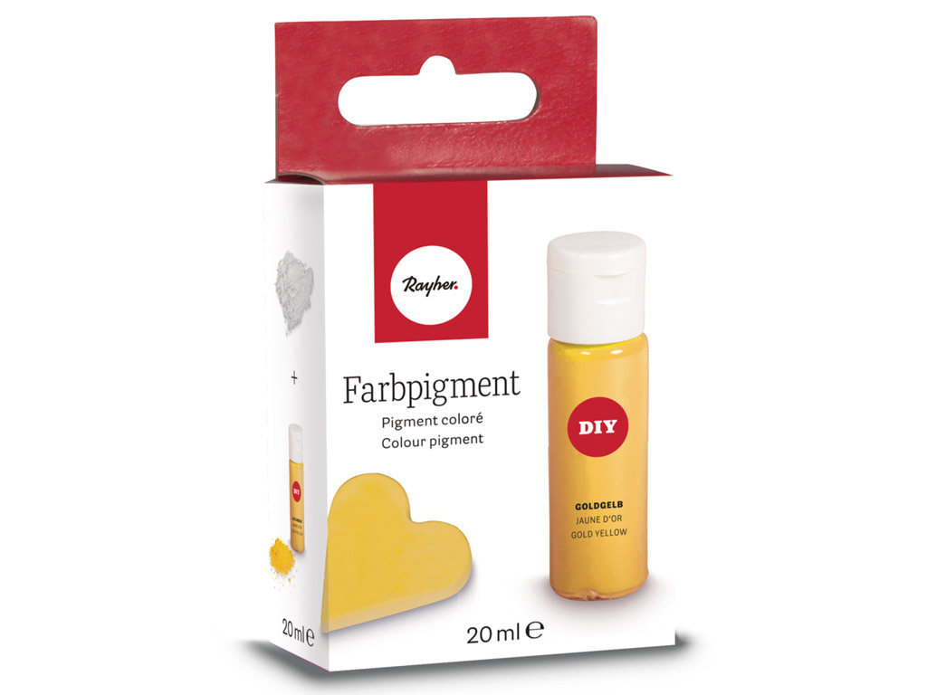 Pigments Rayher 20ml golden yellow