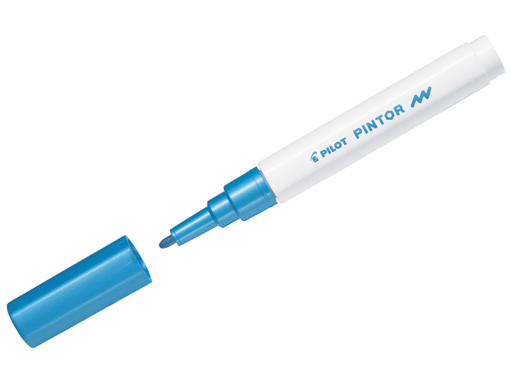 Marķieris Pilot Pintor F metallic blue