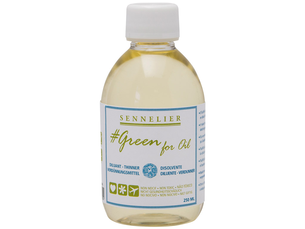 Õlivärvi vedeldaja Sennelier Green for Oil 250ml