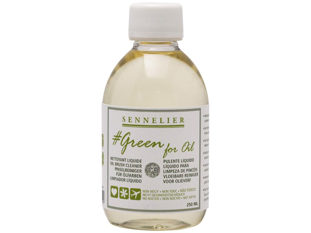 Pintslipuhastusvahend Sennelier Green for Oil 250ml