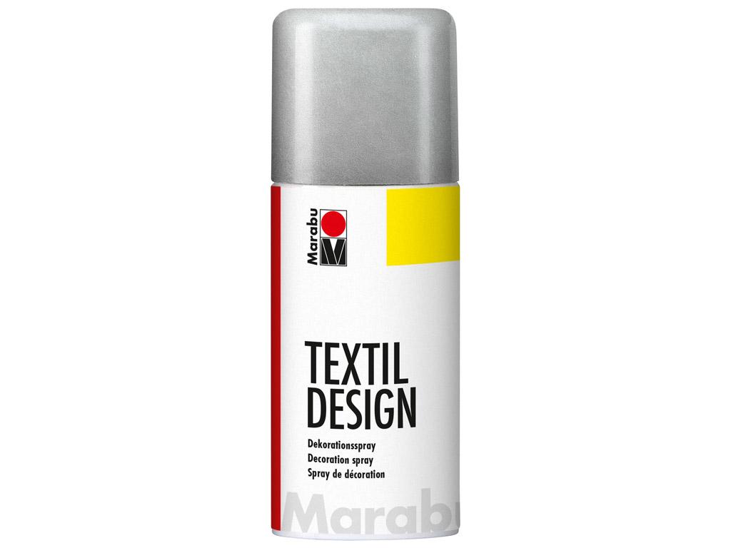Tekstilės dažai Textil Design aerozolis 150ml 782 metallic-silver