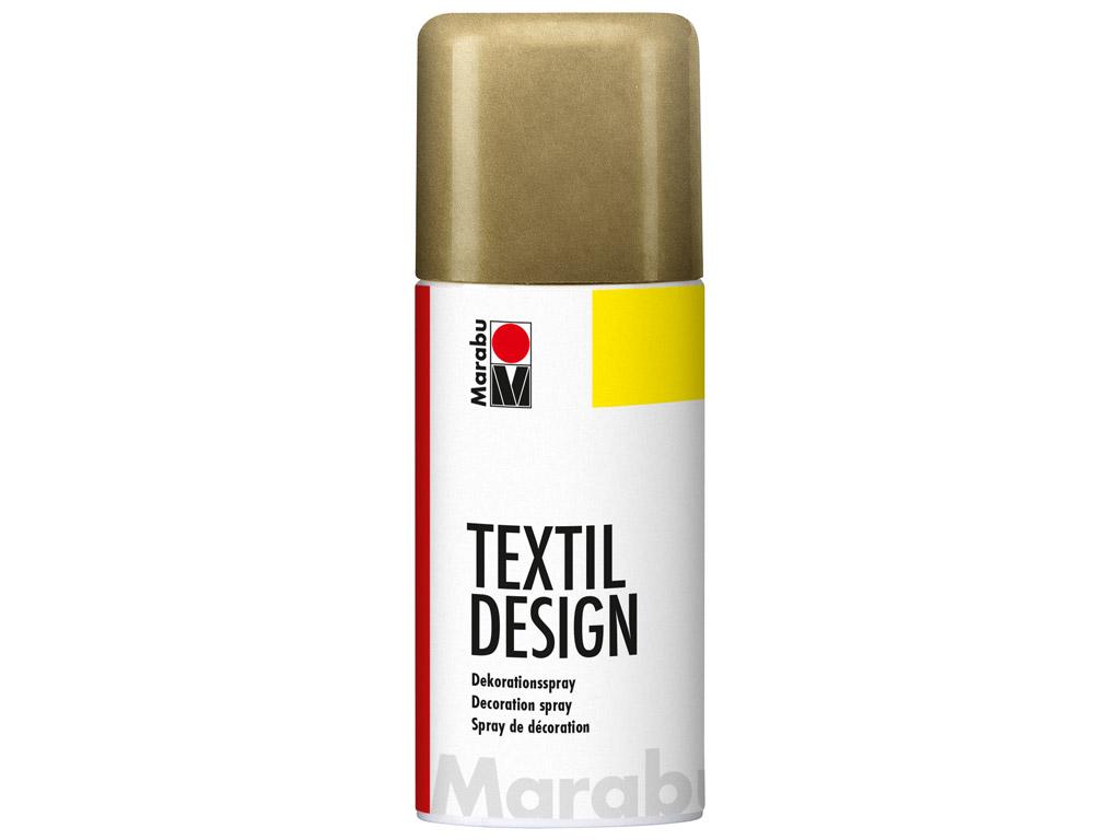 Tekstiilivärv Textil Design aerosool 150ml 784 metallic-gold