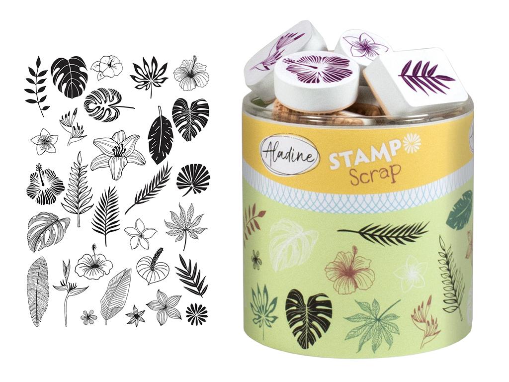 Tempel Aladine Stampo Scrap 29tk Jungle + templipadi must