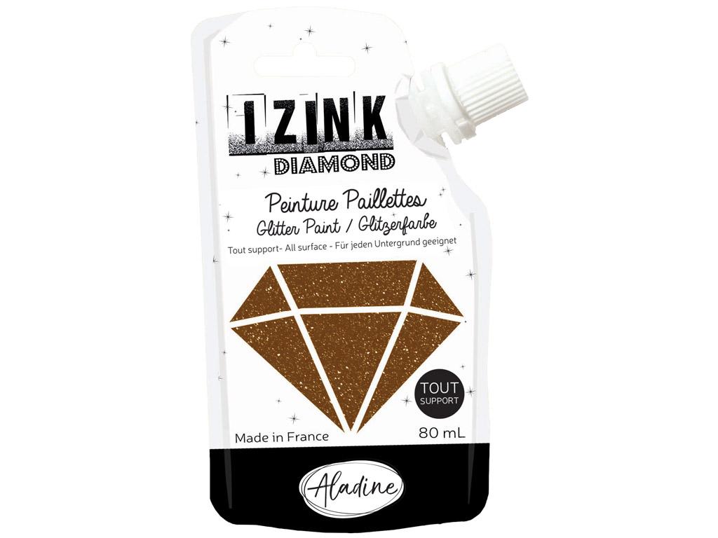 Dekoorvärv Aladine Izink Diamond 80ml brown