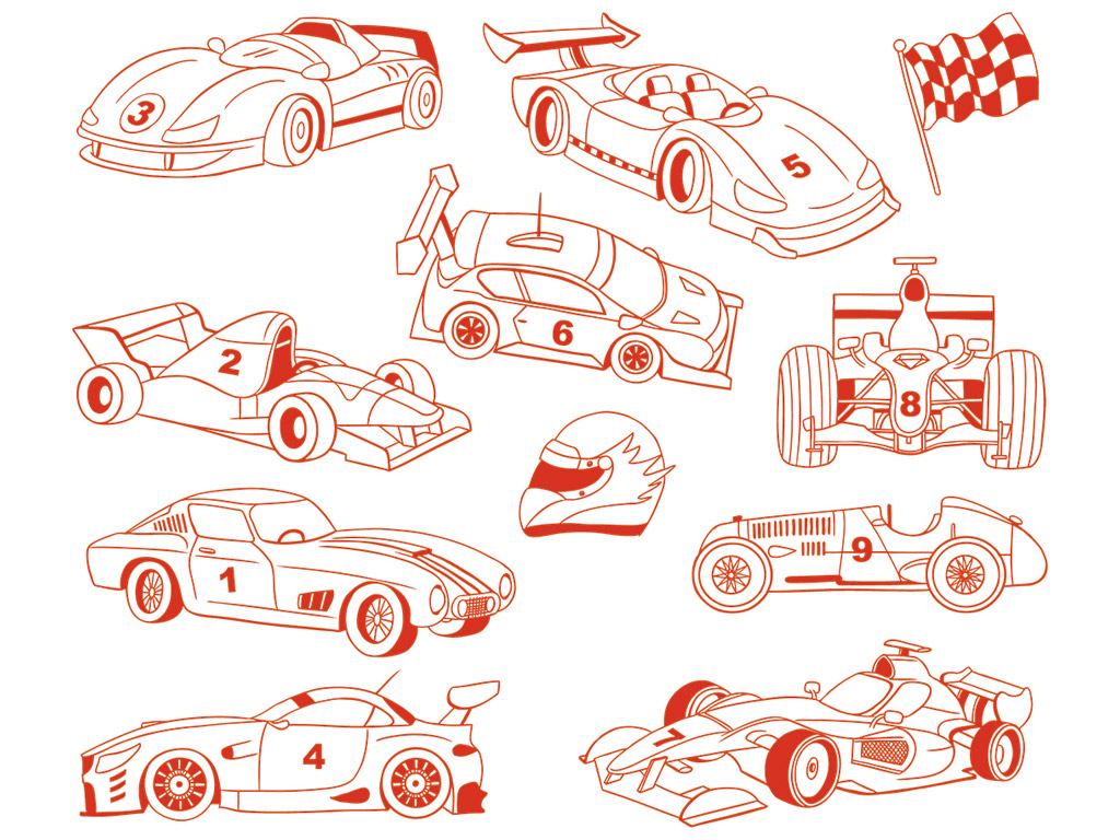Tempel Aladine Stampo Minos 11tk Cars + templipadi must