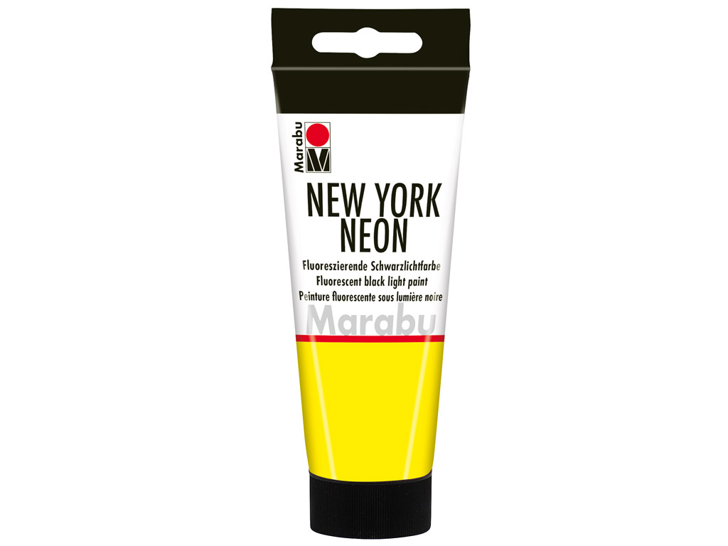 Dekorkrāsa New York Neon 100ml 321 neon-yellow