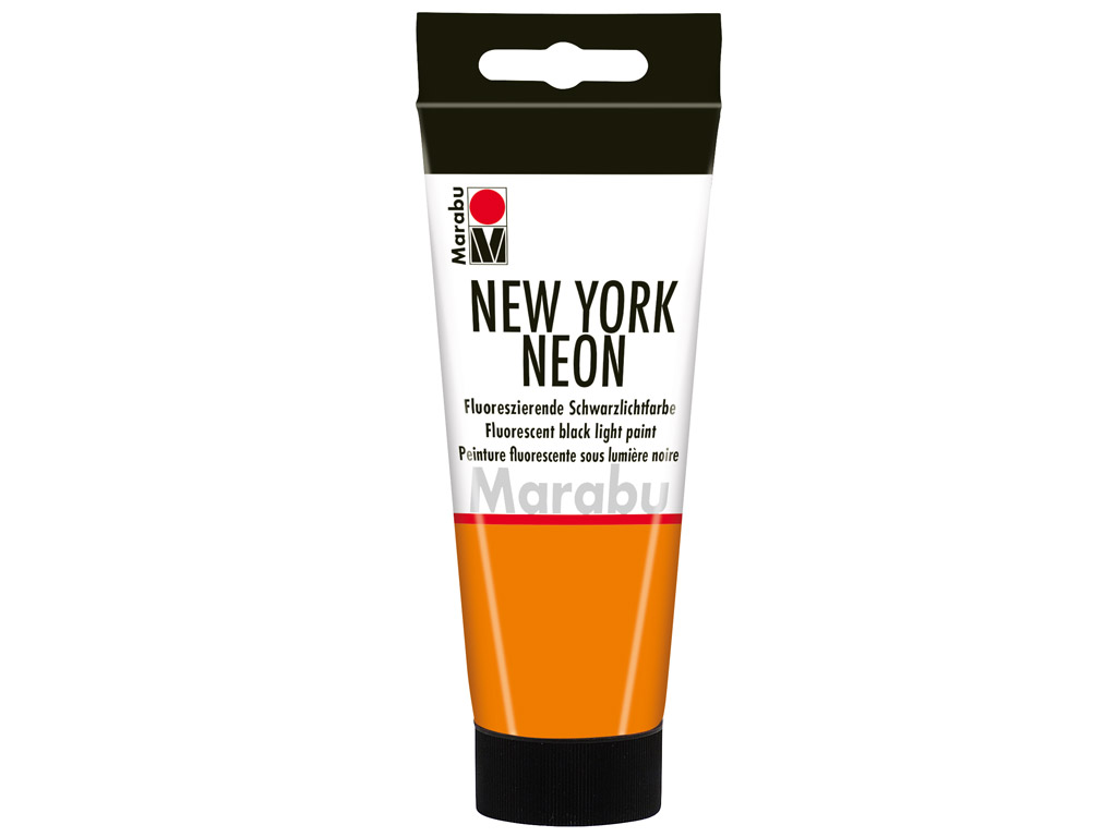 Dekorkrāsa New York Neon 100ml 324 neon-orange