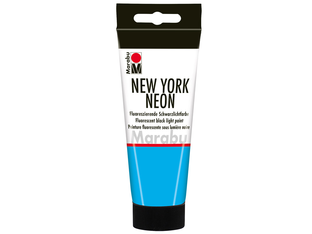 Dekorkrāsa New York Neon 100ml 355 neon-blue
