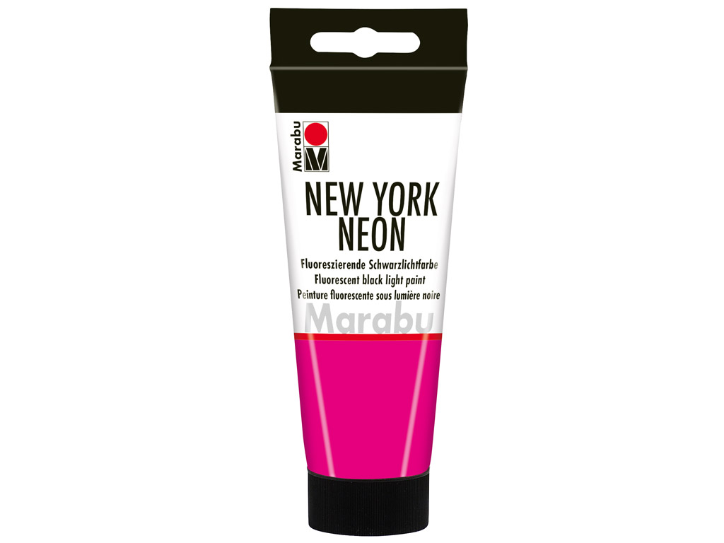 Dekorkrāsa New York Neon 100ml 334 neon-pink