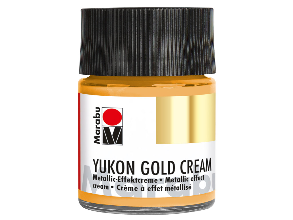 Dekoorvärv Yukon Gold Cream 50ml 784 metallic-gold