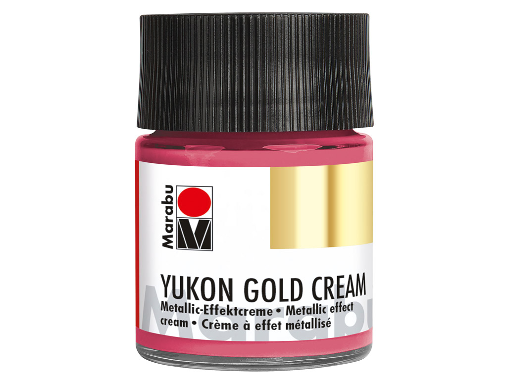 Dekoorvärv Yukon Gold Cream 50ml 735 metallic-magenta