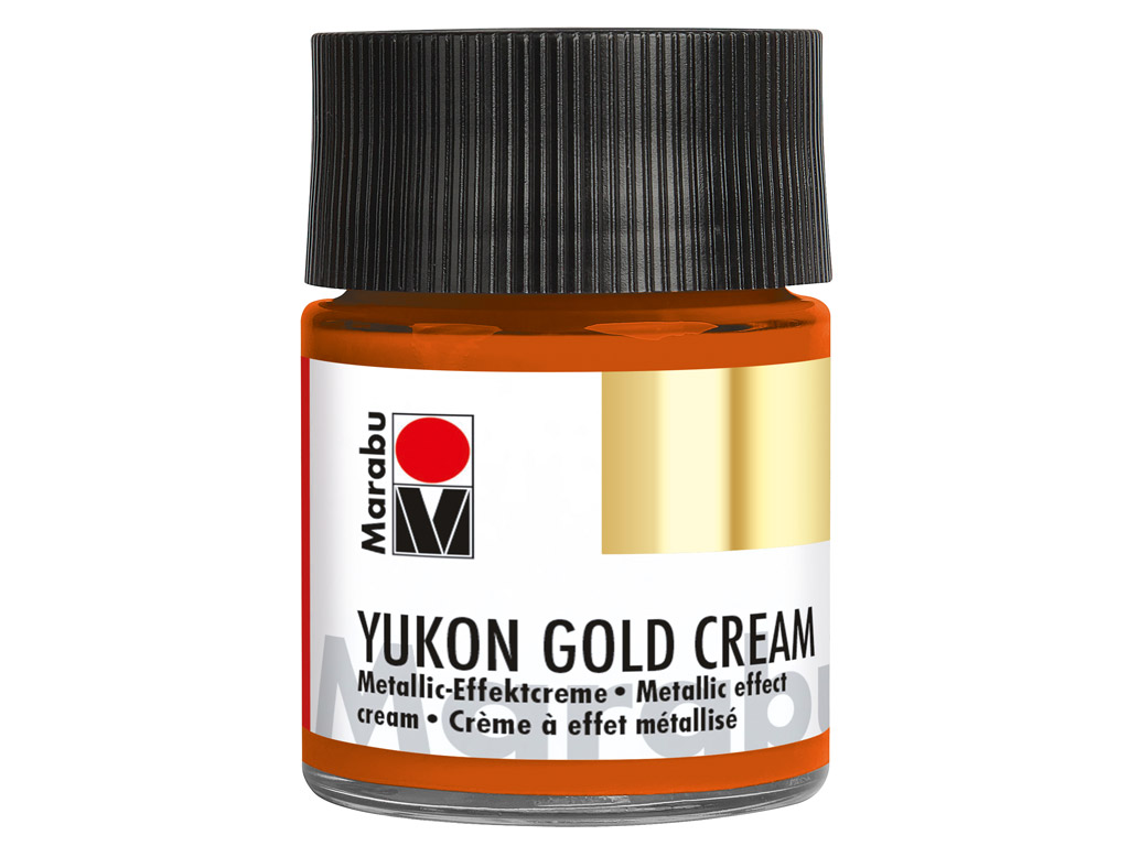 Dekoorvärv Yukon Gold Cream 50ml 787 metallic-copper