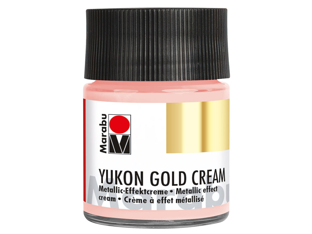 Dekoorvärv Yukon Gold Cream 50ml 734 rose gold
