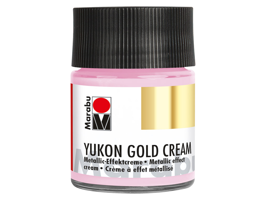 Dekoorvärv Yukon Gold Cream 50ml 733 metallic-pink